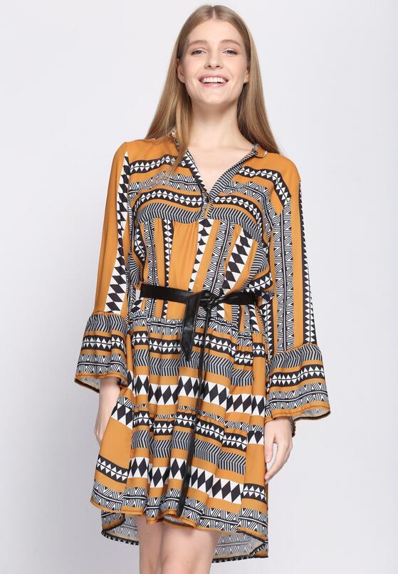 Camelowa Sukienka Commendable