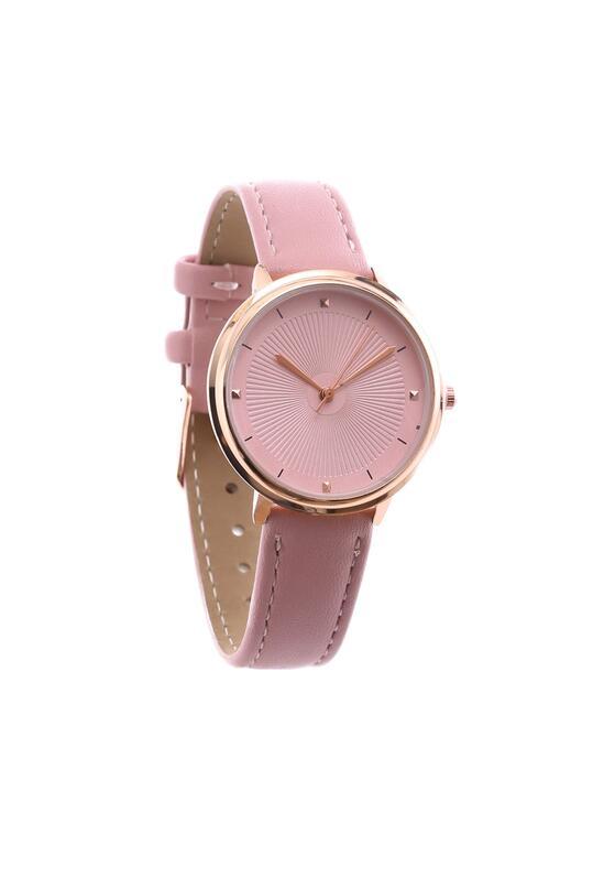 Różowy Zegarek Little Grain