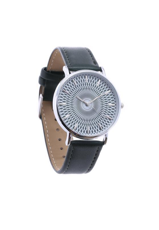 Ciemnozielony Zegarek Commonplace