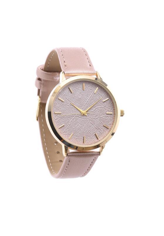Beżowy Zegarek Limits