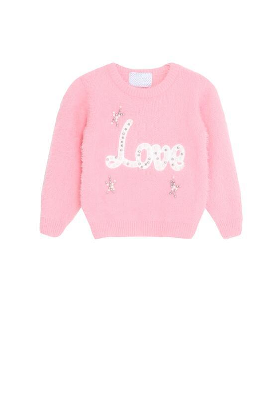 Różowy Sweter Meekness