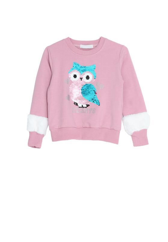 Różowa Bluza Happy