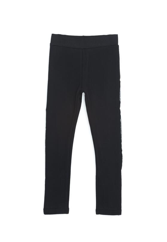 Czarne Spodnie Mass