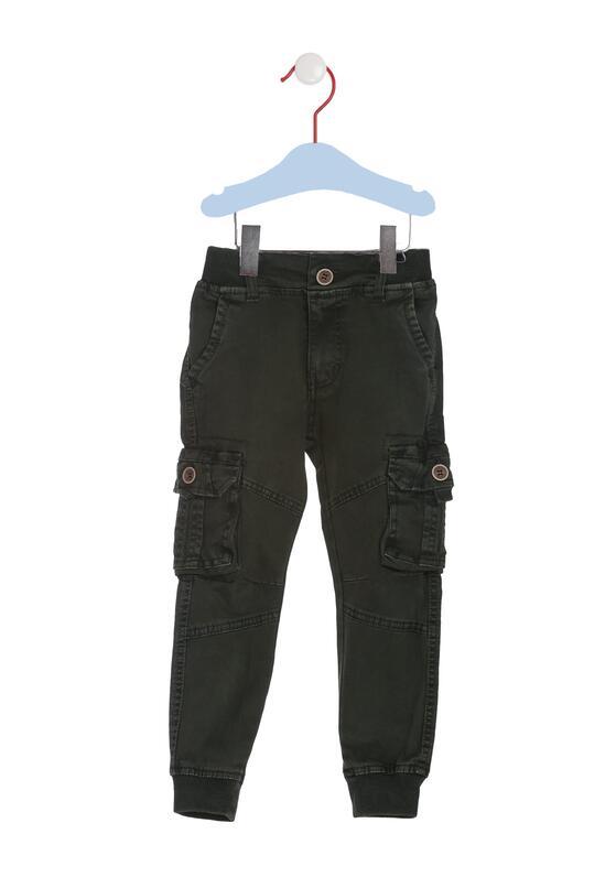 Cimnozielone Spodnie Stopwatch