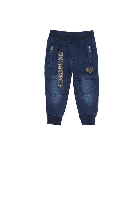 Granatowe Spodnie Accomplished