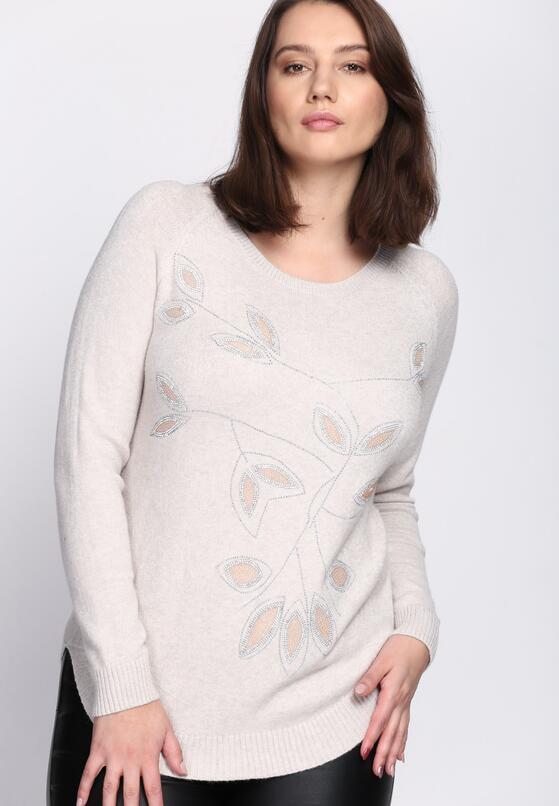 Jasnobeżowy Sweter My Melody