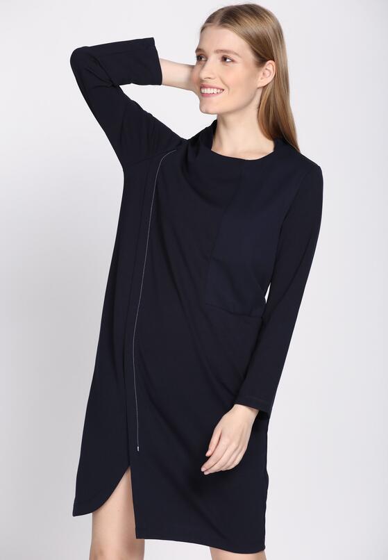 Granatowa Sukienka Criterion