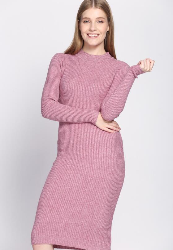 Różowa Sukienka Scarcity
