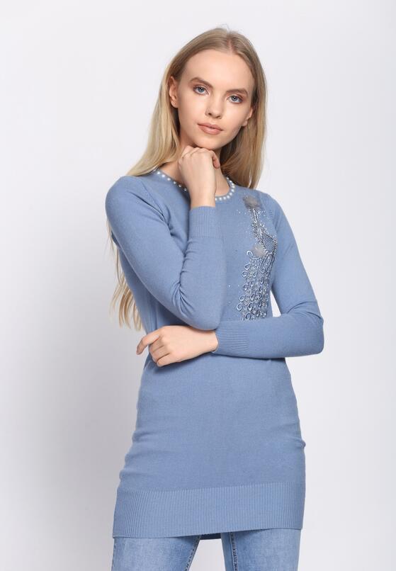 Niebieska Sukienka Unclouded