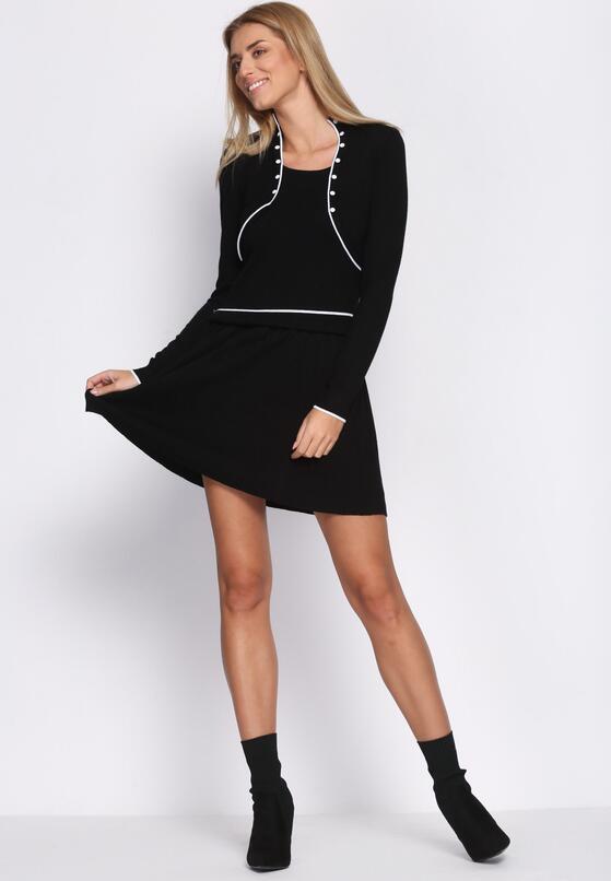 Czarna Sukienka Basis
