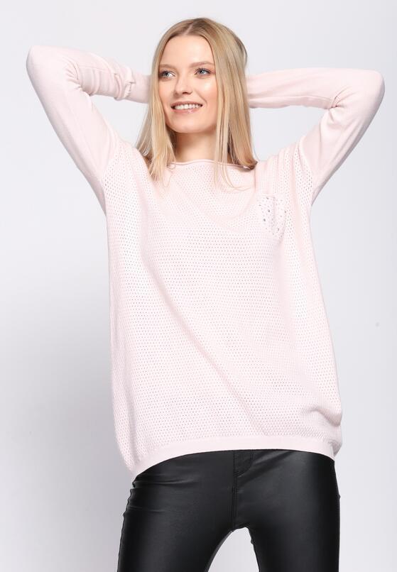 Jasnoróżowy Sweter Daydream