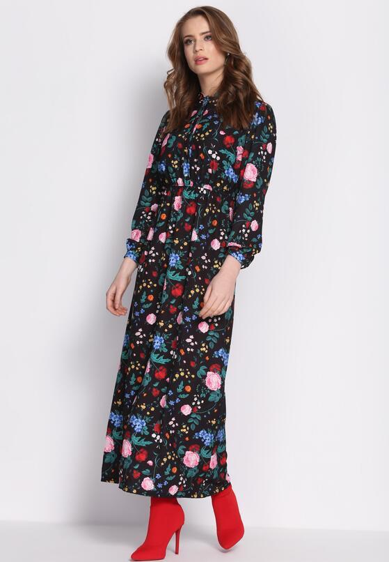 Czarno-Różowa Sukienka No Taboo