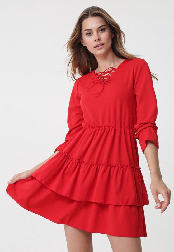 Czerwona Sukienka Suave