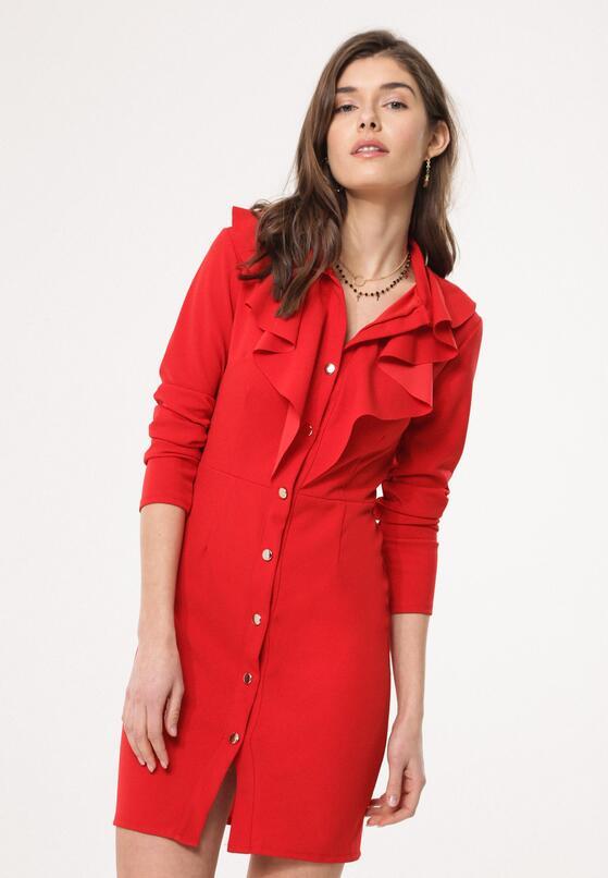 Czerwona Sukienka Stagy