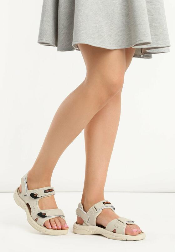 Beżowe Sandały Mazerunner