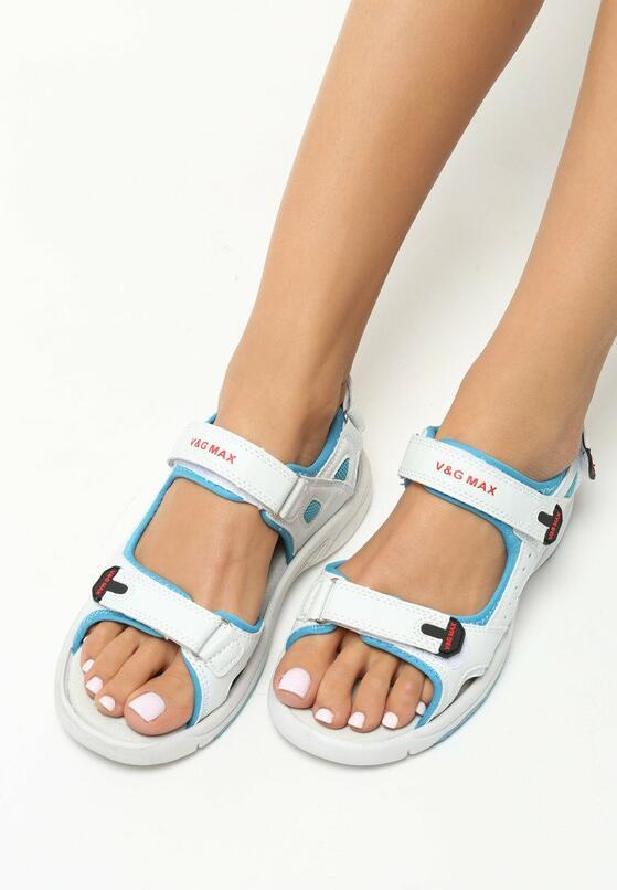 Niebieskie Sandały Ankard