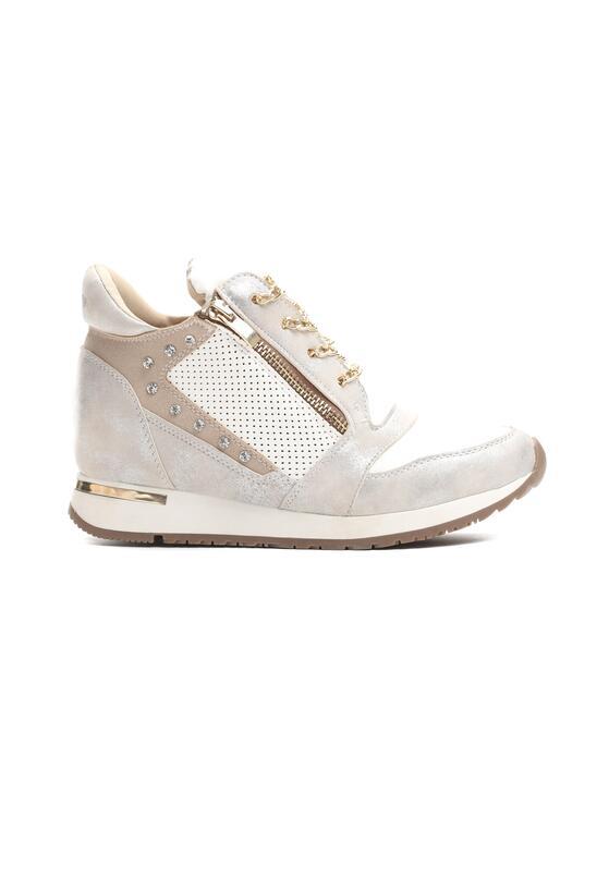 Białe Sneakersy Slow Creep