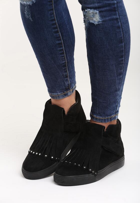 Czarne Sneakersy Waiting For Love