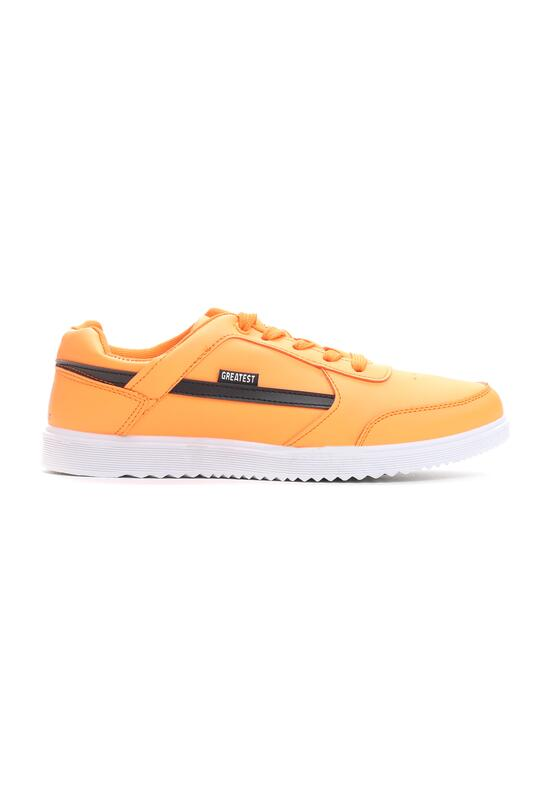 Pomarańczowe Buty Sportowe Heavy