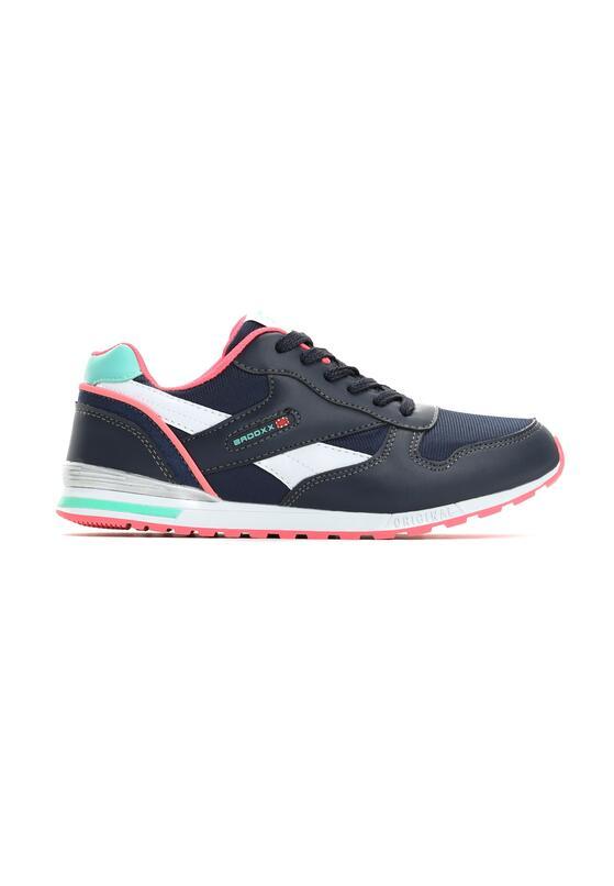 Granatowo-Różowe Buty Sportowe Mastermind