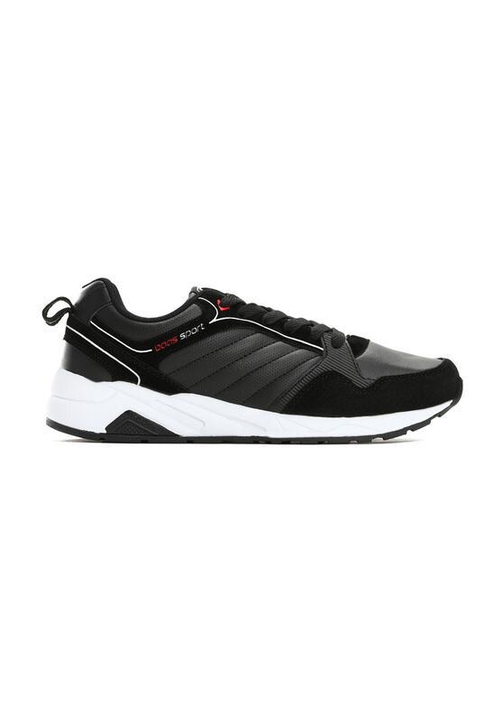 Czarne Buty Sportowe Impassable
