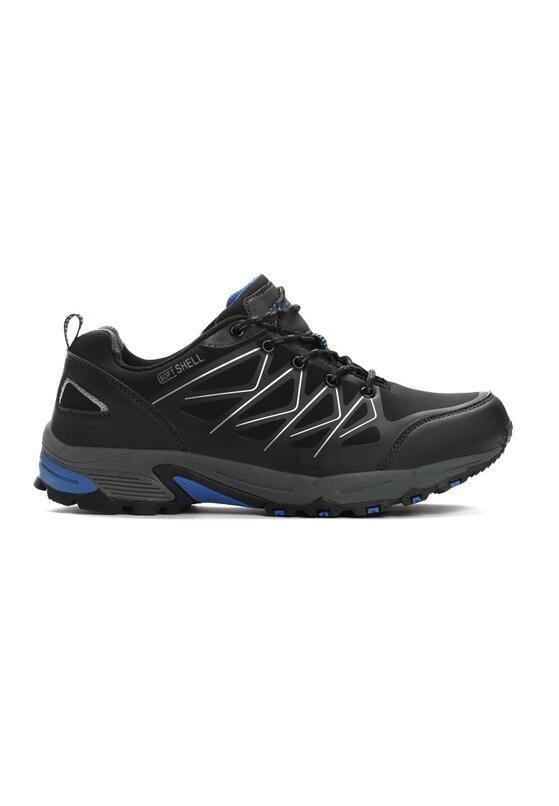 Czarno-Niebieskie Buty Sportowe Racket