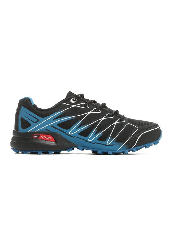 Czarno-Niebieskie Buty Sportowe Jigsaw