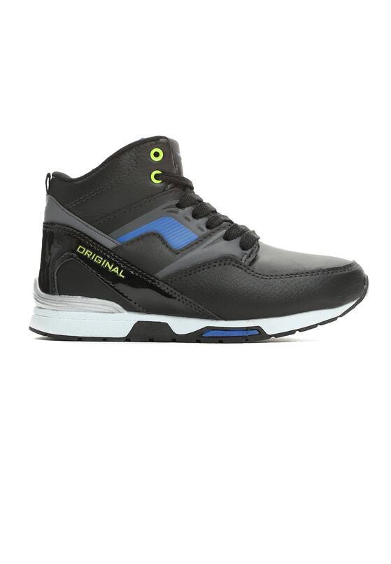Czarno-Niebieskie Buty Sportowe Primary