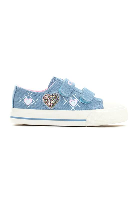 Niebieskie Trampki Sweet Heart