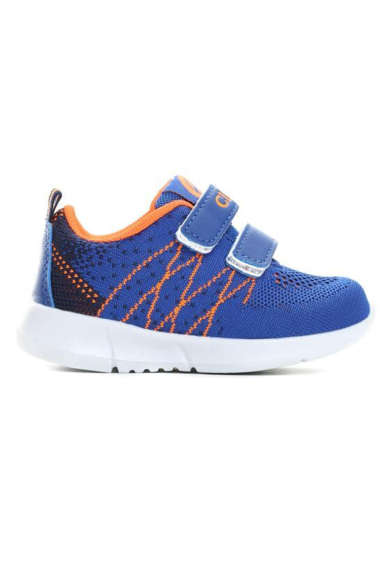 Niebieskie Buty Sportowe Flat Twine