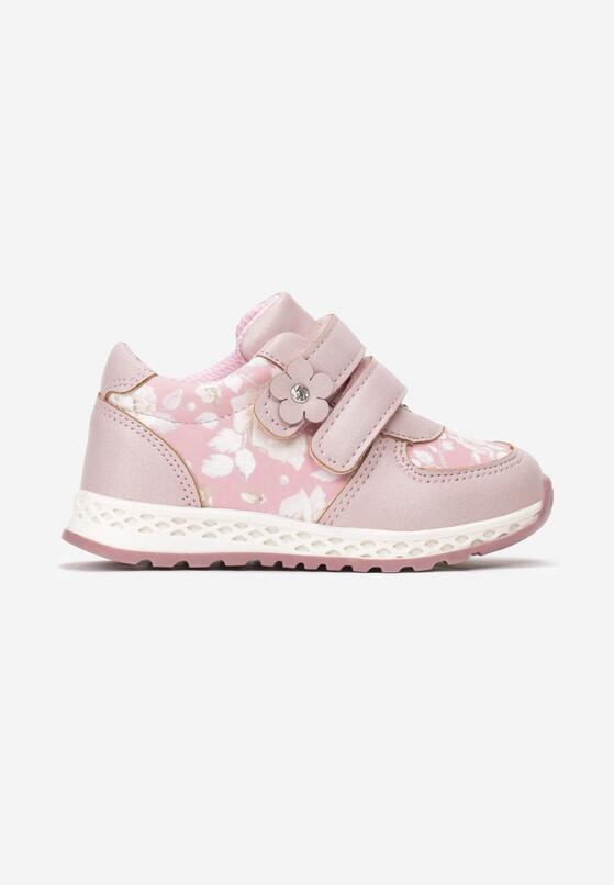 Różowe Buty Sportowe Contour