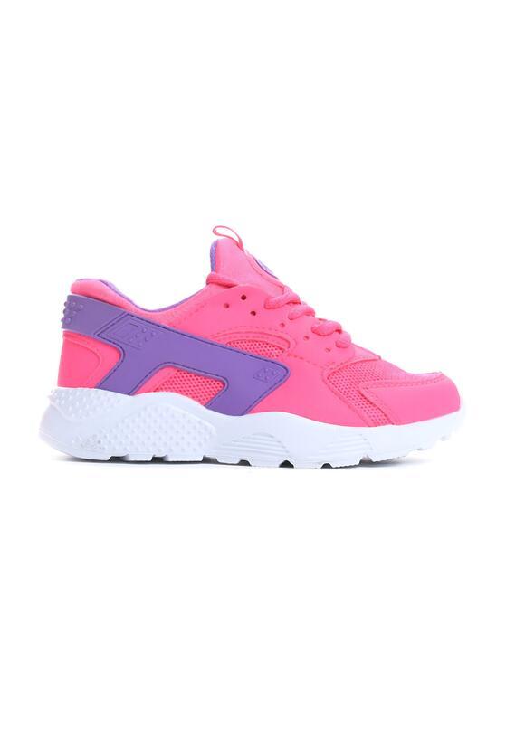 Różowe Buty Sportowe Be For You