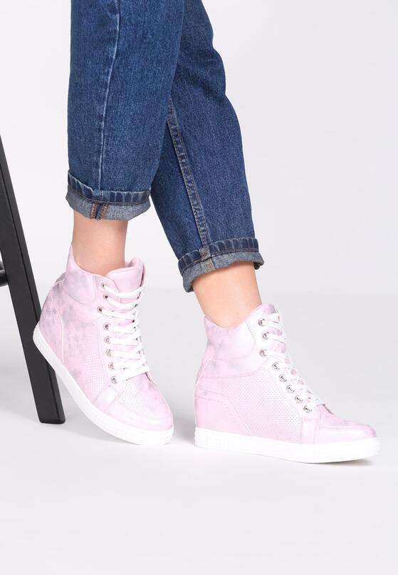 Różowe Sneakersy Day Begin