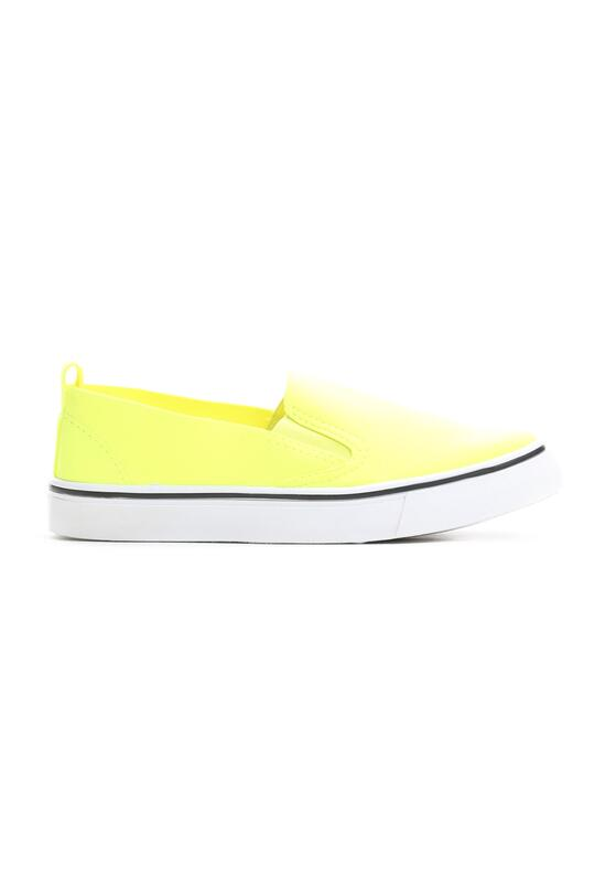 Żółte Slip On Space Walk