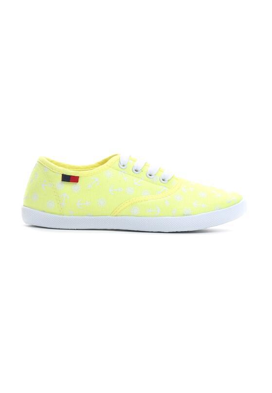 Żółte Tenisówki Hey Girls