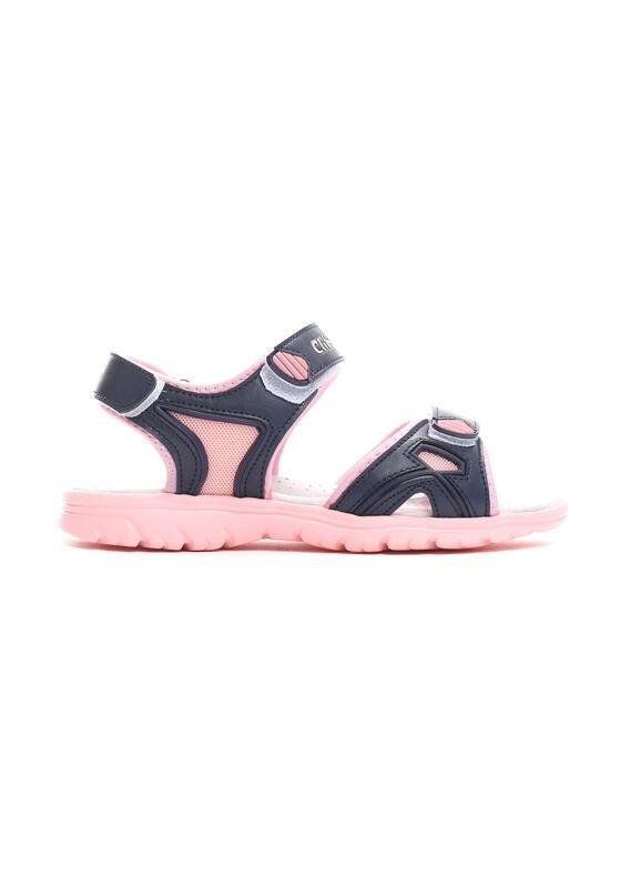 Granatowo-Różowe Sandałki Know Me
