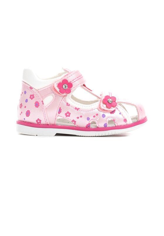 Jasnoróżowe Sandały Oh My Love