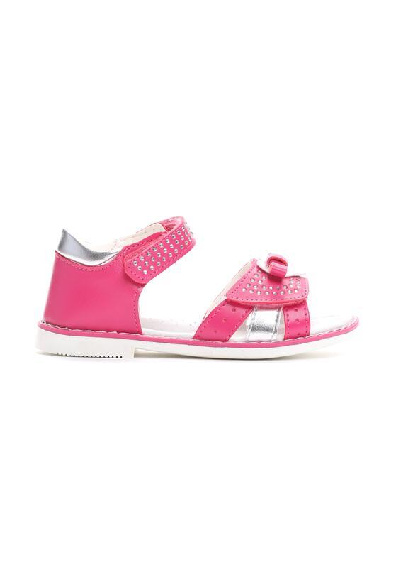 Różowe Sandały Sparks Fly
