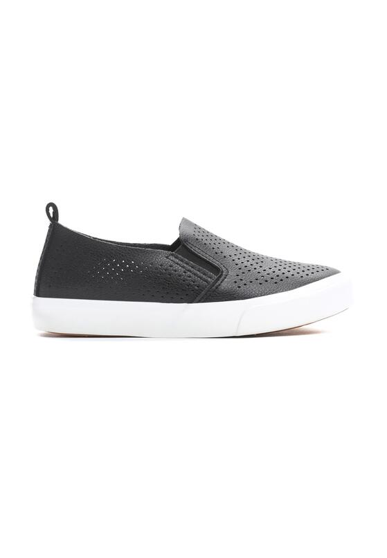 Czarne Slip On Thunderstruck