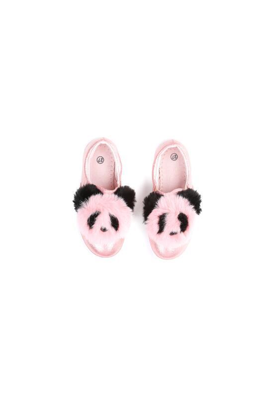 Różowe Slip On Panda