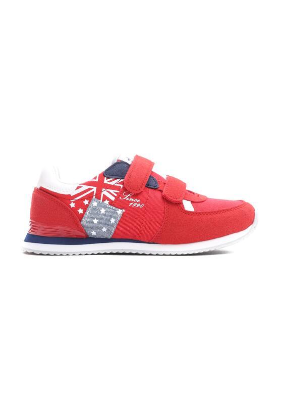 Czerwone Buty Sportowe Courtesy