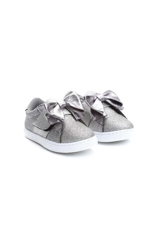Srebrne Slip On Little Sparkle