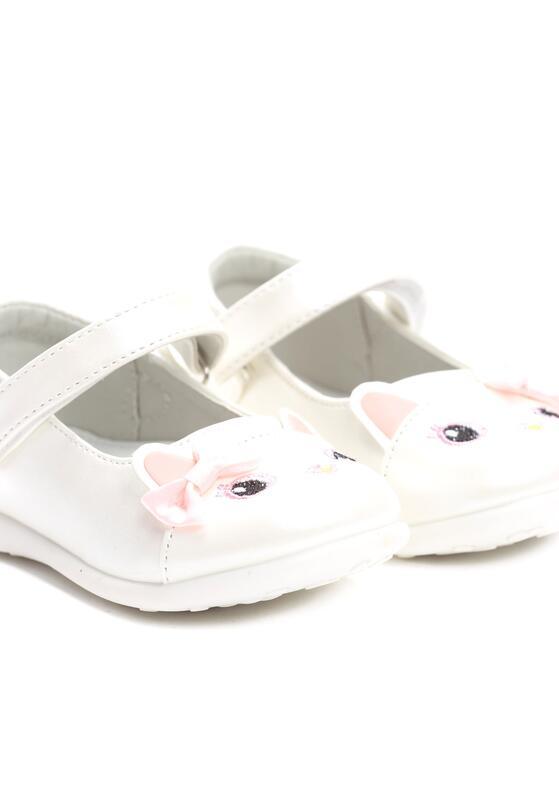 Białe Półbuty Kitty