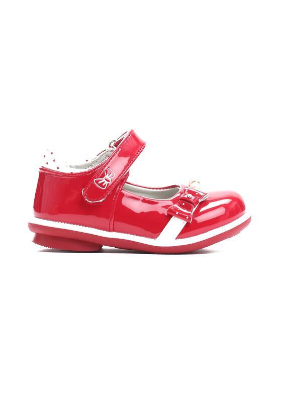 Czerwone Półbuty Elegant Girl