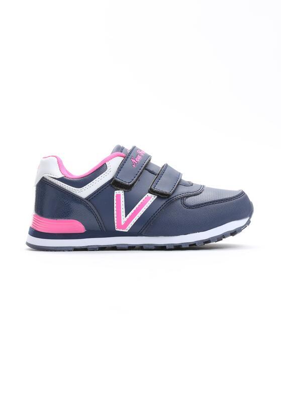 Granatowo-Różowe Buty Sportowe Pink Air