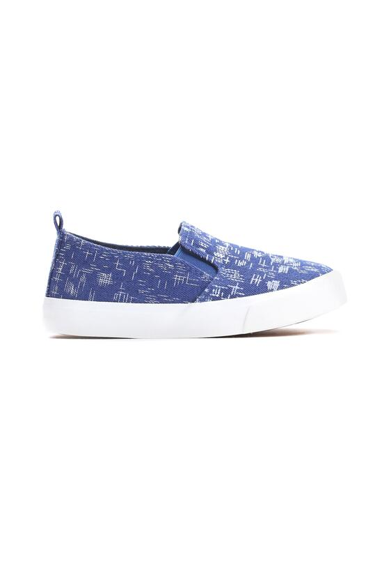 Niebieskie Slip On Take A Vow