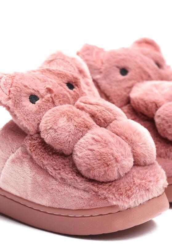 Różowe Kapcie My Teddy Bear