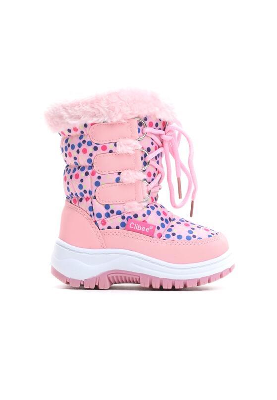 Różowe Śniegowce Wintry Play
