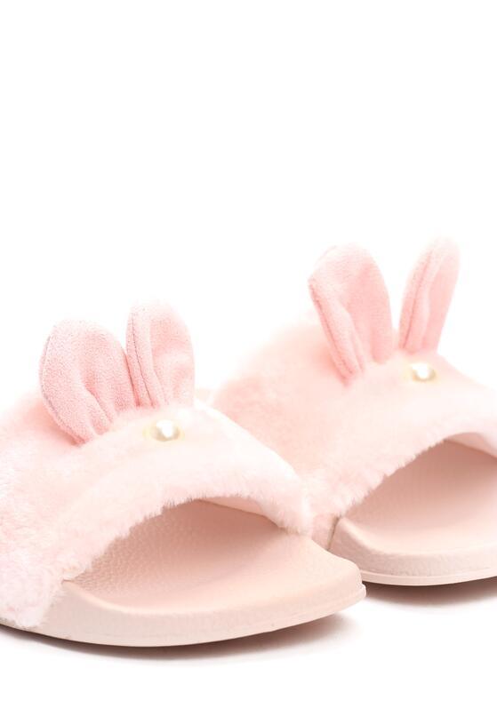 Różowe Klapki Common Rabbit