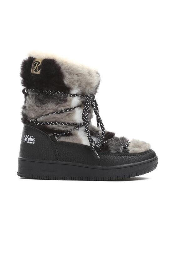 Czarno-Szare Śniegowce Alecia